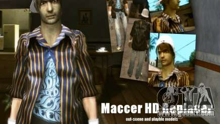 Maccer HD Replacer for GTA San Andreas