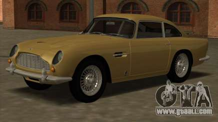 Aston Martin DB5 Vantage 1965 for GTA San Andreas
