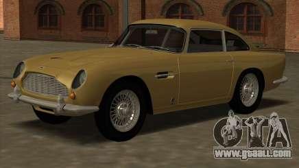 Aston Martin DB5 Vantage 1965 for GTA San Andreas