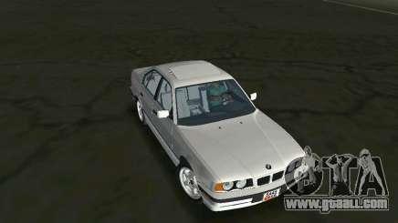 BMW 540i (E34) 1992 for GTA Vice City