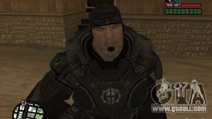 Marcus Fenix from Gears of War 2 for GTA San Andreas