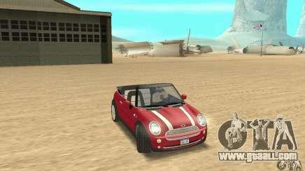 Mini Cooper Convertible for GTA San Andreas