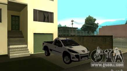 Peugeot Hoggar Escapade 2010 for GTA San Andreas