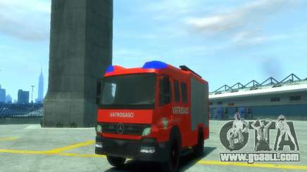 Mercedes-Benz Atego Fire Departament for GTA 4