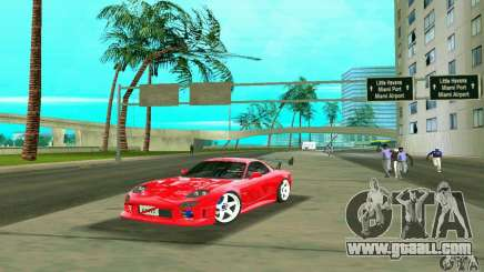 Mazda RX7 Charge-Speed for GTA Vice City