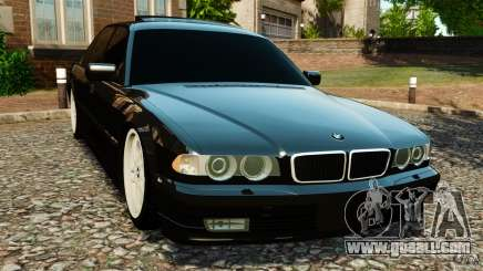 BMW 750iL E38 Light Tuning for GTA 4
