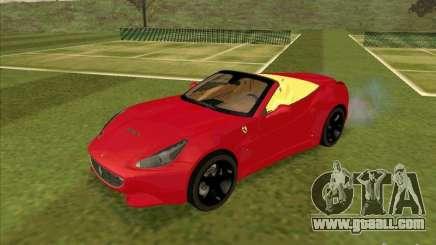 Ferrari California for GTA San Andreas