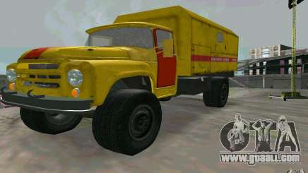 ZIL 130 night watch for GTA San Andreas