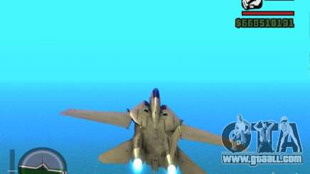 F 14 A TOMCAT for GTA San Andreas