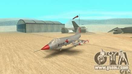 F-104 Starfighter Super (grey) for GTA San Andreas