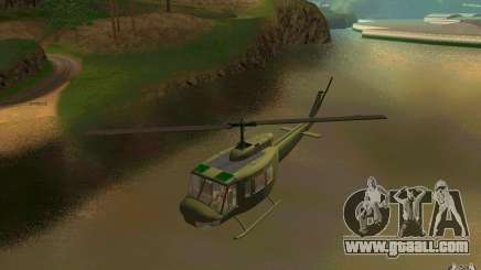 UH-1D Slick for GTA San Andreas
