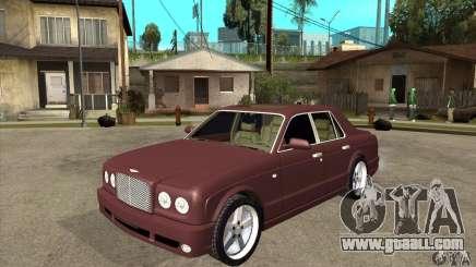 Bentley Arnage GT for GTA San Andreas