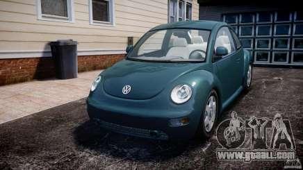 Volkswagen New Beetle 2003 for GTA 4