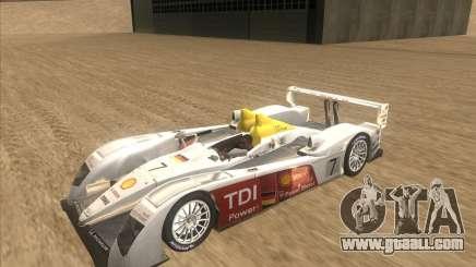 Audi R10 TDI for GTA San Andreas