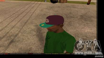 Baseball Cap with the logo of the band HIM for GTA San Andreas