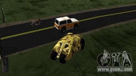 Army Tumbler v2.0 for GTA San Andreas