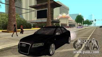 Audi RS 4 sedan for GTA San Andreas