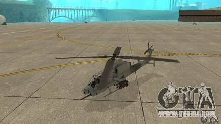 Hunter - AH-1Z Cobra for GTA San Andreas