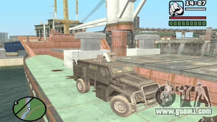 Military truck for GTA San Andreas