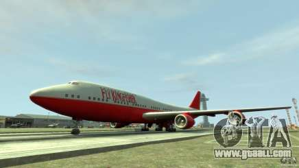 Fly Kingfisher Airplanes without logo for GTA 4