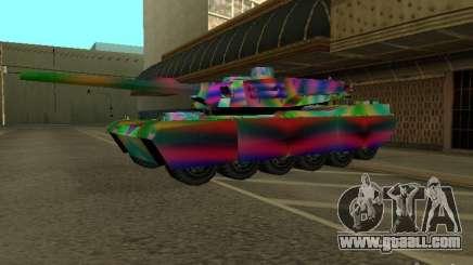A cheery color tank for GTA San Andreas