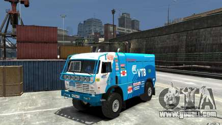 KAMAZ 4911 Rally MASTER for GTA 4