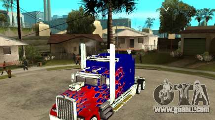 Truck Optimus Prime for GTA San Andreas