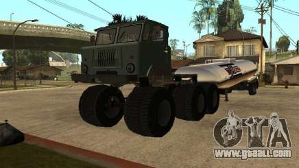 GAZ 66 Saiga for GTA San Andreas