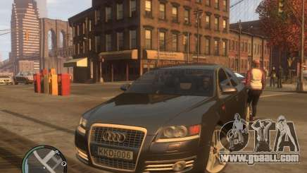 Audi A6 for GTA 4