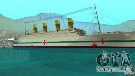 HMHS Britannic for GTA San Andreas