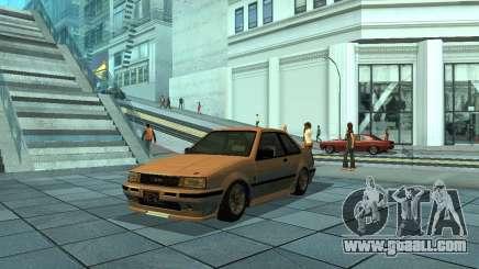 Futo from GTA 4 for GTA San Andreas