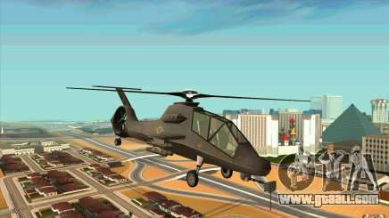 Sikorsky RAH-66 Comanche default grey for GTA San Andreas