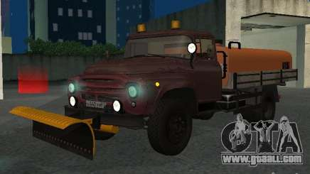 Ko-829 on truck-chassis ZIL-130 beta for GTA San Andreas