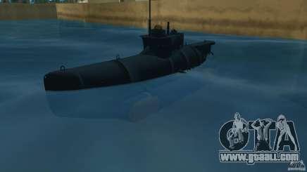 Seehund Midget Submarine skin 2 for GTA Vice City