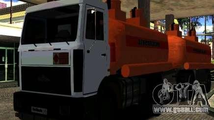MAZ 533702 Truck for GTA San Andreas