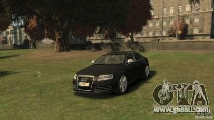 Audi RS6 v.1.1 for GTA 4