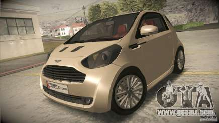 Aston Martin Cygnet 2010 V2.0 for GTA San Andreas