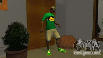 New green running shoes for GTA San Andreas