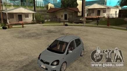 Toyota Vitz for GTA San Andreas