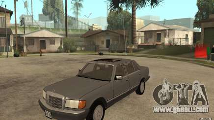 Mercedes Benz W126 560 1990 for GTA San Andreas