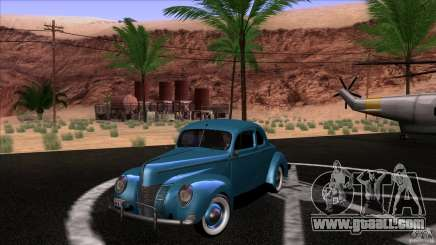 Ford Deluxe Coupe 1940 for GTA San Andreas