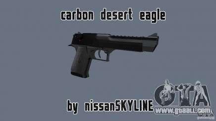 Carbon Desert Eagle for GTA San Andreas