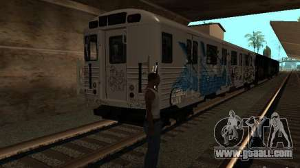 The train from GTA IV for GTA San Andreas