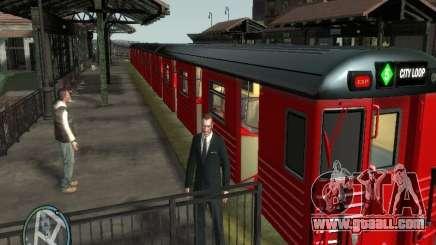 Redbird train v1.0 for GTA 4