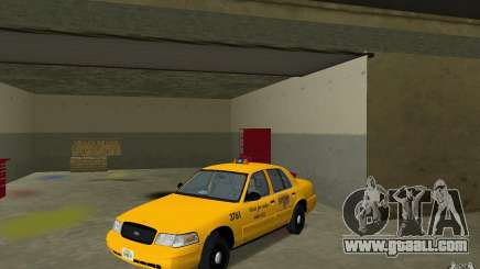 Ford Crown Victoria Taxi for GTA Vice City