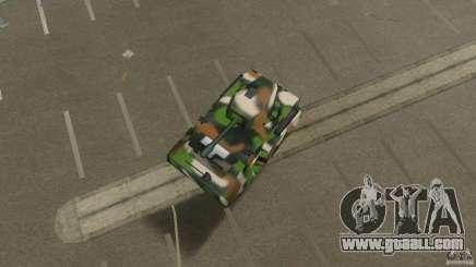 Bundeswehr-Panzer for GTA Vice City