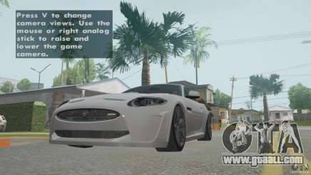 Jaguar XKR-S for GTA San Andreas