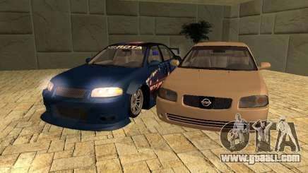 Nissan Sentra for GTA San Andreas