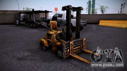 Forklift from the TimeShift for GTA San Andreas