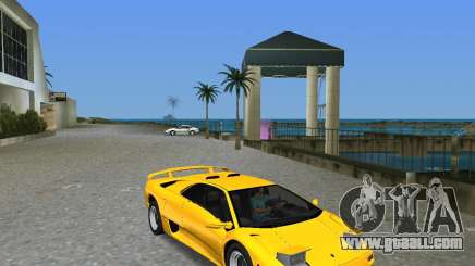 Lamborghini Diablo SV for GTA Vice City